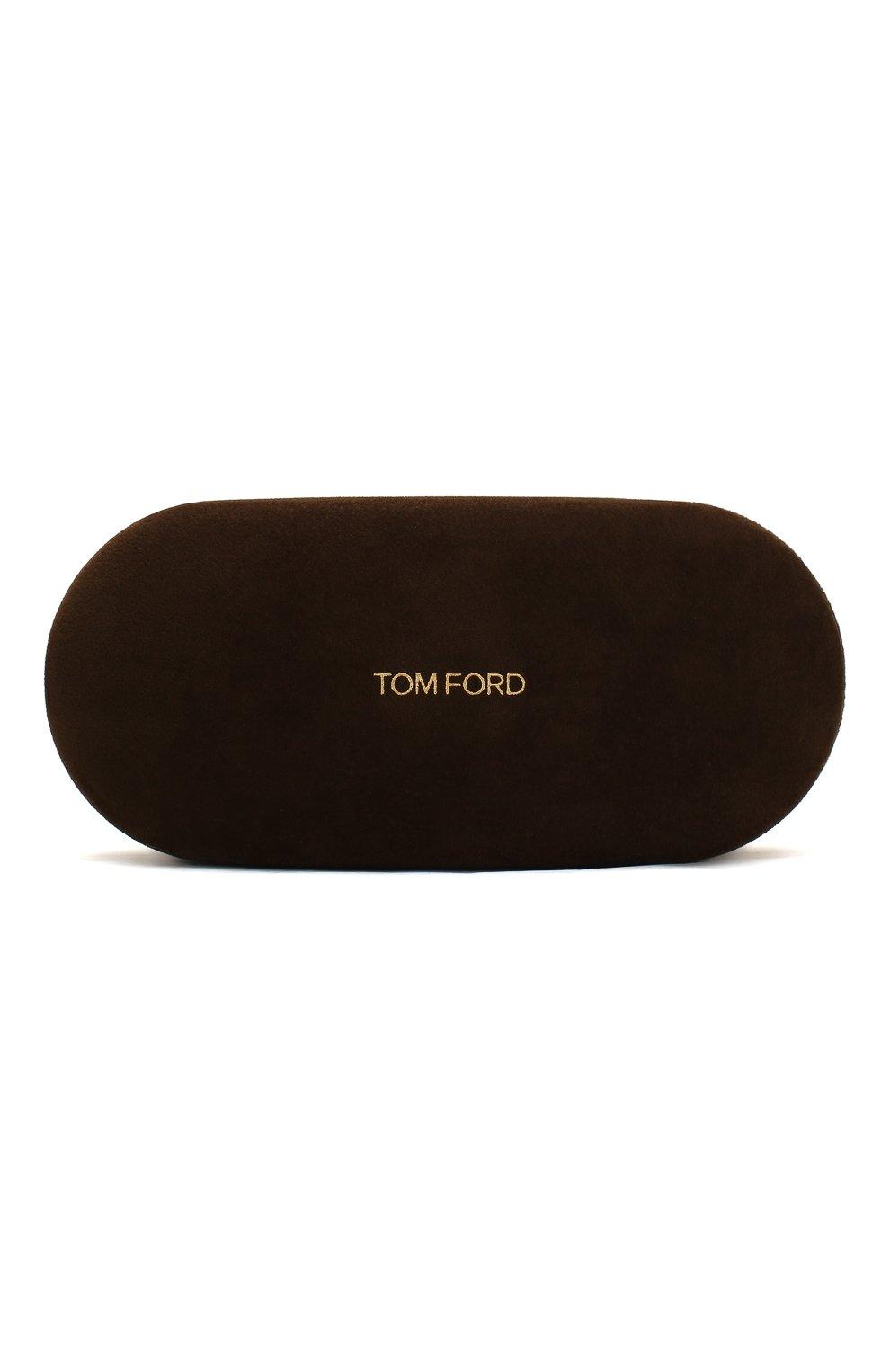 Женские солнцезащитные очки TOM FORD красного цвета, арт. TF740 | Фото 5