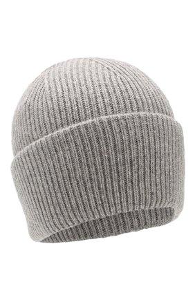 Женский кашемировая шапка carrera BALMUIR светло-серого цвета, арт. CARRERA BEANIE/MELANGE | Фото 1