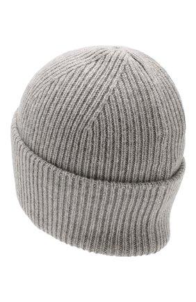 Женский кашемировая шапка carrera BALMUIR светло-серого цвета, арт. CARRERA BEANIE/MELANGE | Фото 2