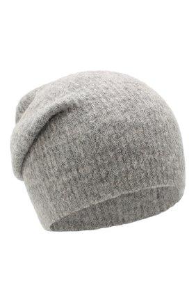 Женский шерстяная шапка grace BALMUIR серого цвета, арт. GRACE BEANIE/MELANGE | Фото 1