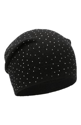 Женский шапка st. moritz из смеси шерсти и кашемира BALMUIR черного цвета, арт. ST.M0RITZ BEANIE | Фото 1