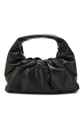 Женская сумка shoulder pouch BOTTEGA VENETA черного цвета, арт. 610524/VCP40 | Фото 1