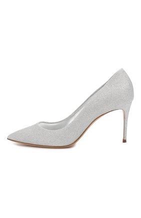 Женские туфли CASADEI серебряного цвета, арт. 1F120D0801CITYL9700 | Фото 3