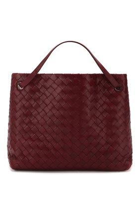 Женская сумка-тоут BOTTEGA VENETA бордового цвета, арт. 600510/VCPP1 | Фото 1