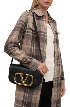Женская сумка valentino garavani supervee VALENTINO черного цвета, арт. TW2B0G09/ZXL | Фото 2