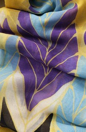 Женское парео из смеси хлопка и шелка VALENTINO разноцветного цвета, арт. TW2EA013/SFM | Фото 2