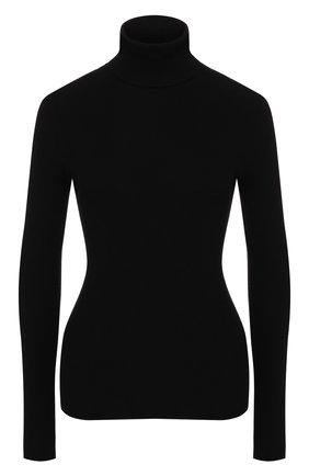 Женская шерстяная водолазка GUCCI черного цвета, арт. 467680/XKA7X   Фото 1