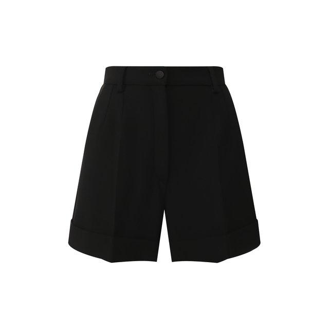 Шерстяные шорты Dolce & Gabbana