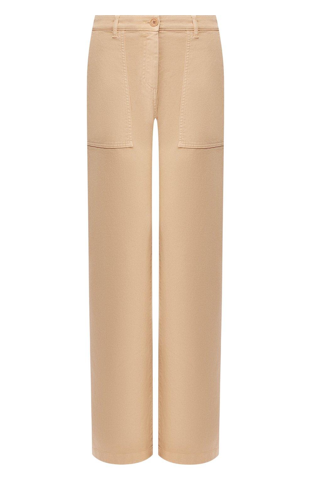Женские джинсы LORO PIANA бежевого цвета, арт. FAL0315   Фото 1