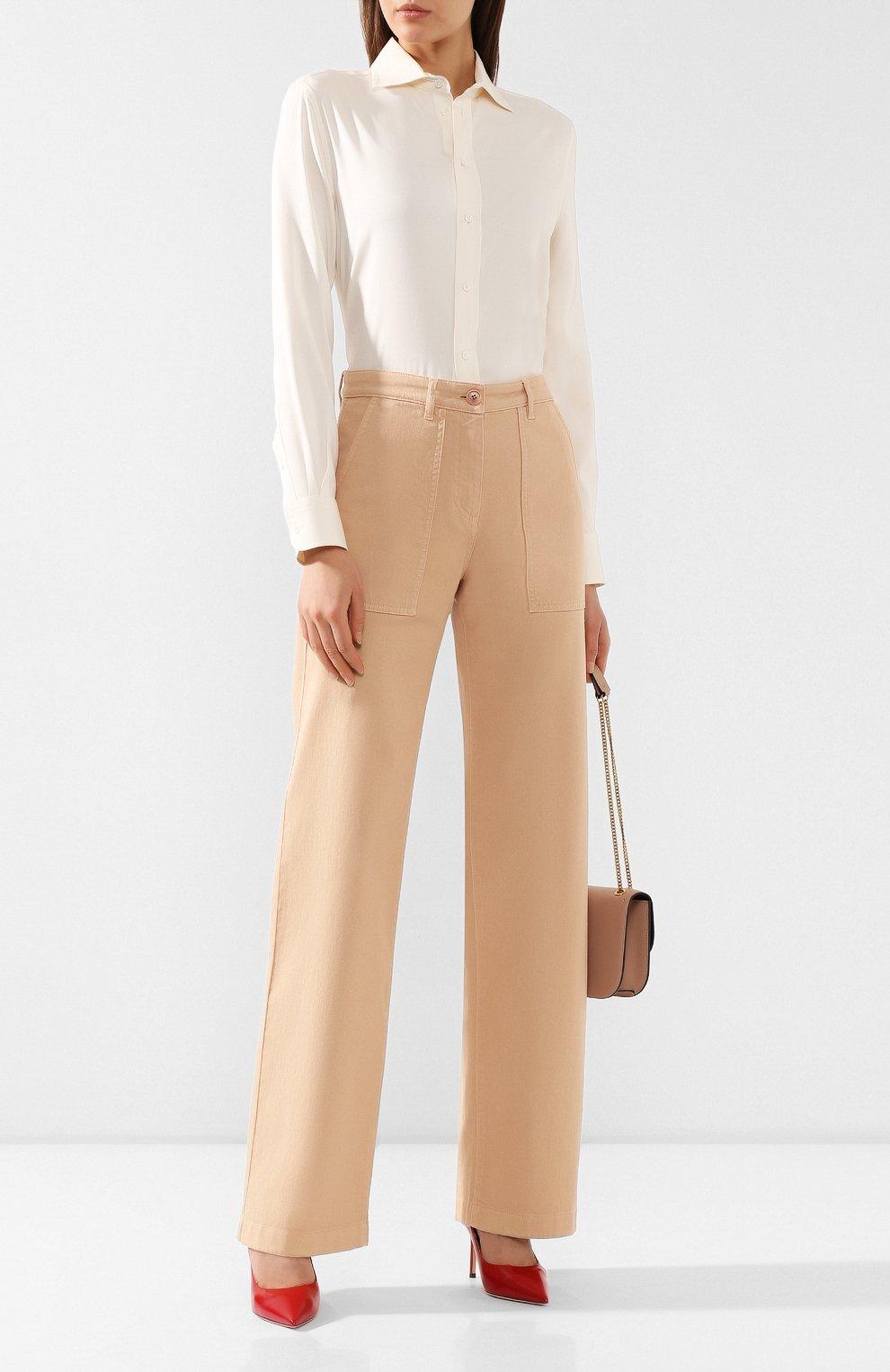 Женские джинсы LORO PIANA бежевого цвета, арт. FAL0315   Фото 2