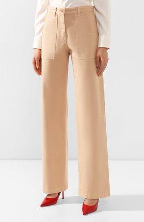 Женские джинсы LORO PIANA бежевого цвета, арт. FAL0315   Фото 3