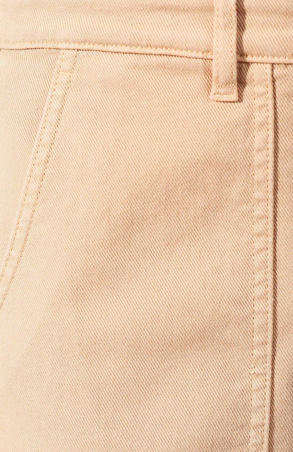 Женские джинсы LORO PIANA бежевого цвета, арт. FAL0315   Фото 5