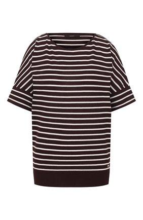 Женская футболка в полоску WINDSOR черно-белого цвета, арт. 52 DT303 10005529 | Фото 1