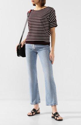 Женская футболка в полоску WINDSOR черно-белого цвета, арт. 52 DT303 10005529 | Фото 2