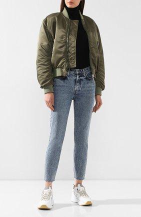 Женские джинсы GRLFRND синего цвета, арт. GF41688861199 | Фото 2