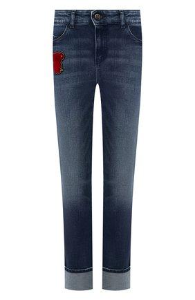 Женские джинсы EMPORIO ARMANI синего цвета, арт. 3H2J81/2D7TZ | Фото 1