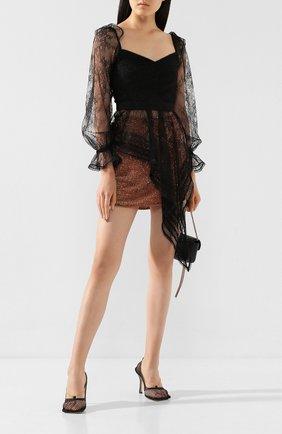 Женская юбка с пайетками RETROFÊTE бронзового цвета, арт. SP19-2115 | Фото 2