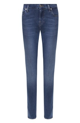 Женские джинсы 7 FOR ALL MANKIND синего цвета, арт. JSWTA23CRL | Фото 1