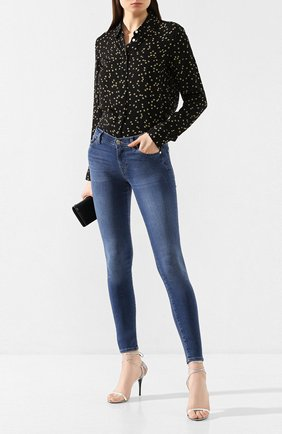 Женские джинсы 7 FOR ALL MANKIND синего цвета, арт. JSWTA23CRL | Фото 2
