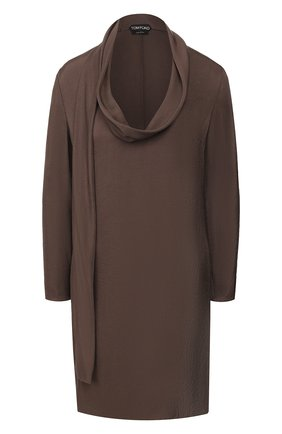 Женское платье TOM FORD хаки цвета, арт. AB2804-FAX180 | Фото 1