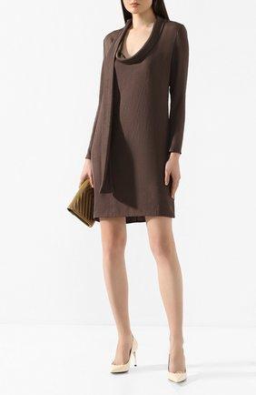 Женское платье TOM FORD хаки цвета, арт. AB2804-FAX180 | Фото 2