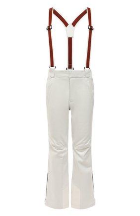 Мужской утепленные брюки LORO PIANA белого цвета, арт. FAI9450 | Фото 1