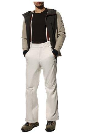Мужской утепленные брюки LORO PIANA белого цвета, арт. FAI9450 | Фото 2