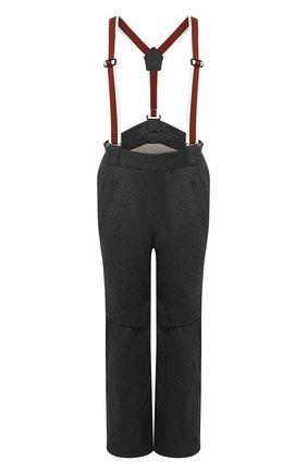 Мужской утепленные брюки LORO PIANA темно-серого цвета, арт. FAI9450 | Фото 1