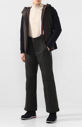 Мужской утепленные брюки LORO PIANA темно-серого цвета, арт. FAI9450 | Фото 2