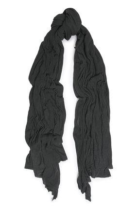 Мужской шарф из вискозы TRANSIT темно-серого цвета, арт. SCAUTRK5001 | Фото 1