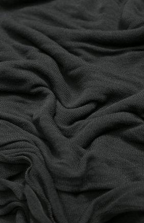 Мужской шарф из вискозы TRANSIT темно-серого цвета, арт. SCAUTRK5001 | Фото 2
