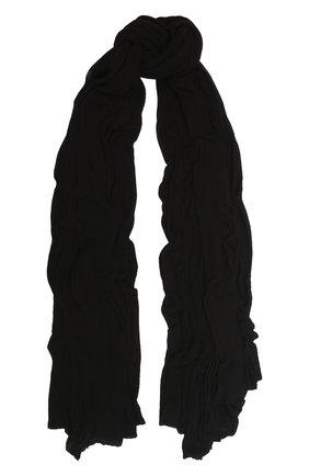 Мужской шарф из вискозы TRANSIT черного цвета, арт. SCAUTRK5001 | Фото 1