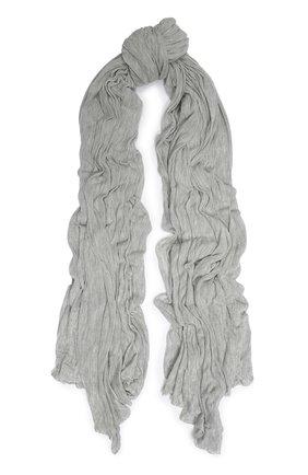 Мужской шарф из вискозы TRANSIT светло-серого цвета, арт. SCAUTRK5001 | Фото 1