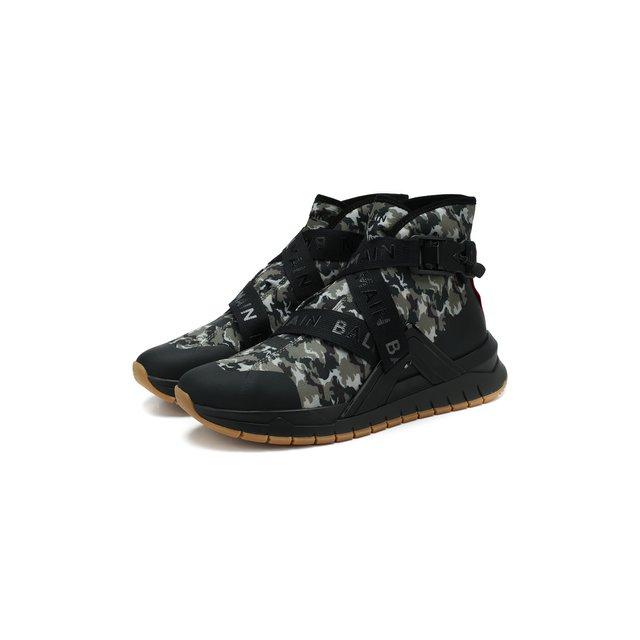 Текстильные кроссовки Balmain — Текстильные кроссовки