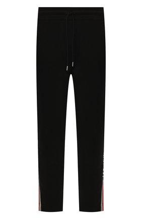 Мужской хлопковые брюки MONCLER черного цвета, арт. F1-091-8H702-00-V8104 | Фото 1