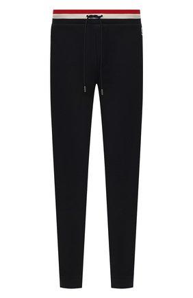 Мужской хлопковые брюки MONCLER темно-синего цвета, арт. F1-091-8H704-00-V8007 | Фото 1