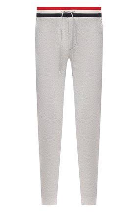 Мужской хлопковые брюки MONCLER серого цвета, арт. F1-091-8H704-00-V8007 | Фото 1