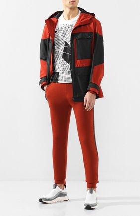 Мужские текстильные кроссовки Z ZEGNA белого цвета, арт. A4413X-LHSTE   Фото 2