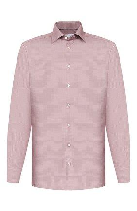 Мужская хлопковая сорочка ETON бордового цвета, арт. 1000 00613 | Фото 1