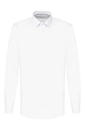 Мужская хлопковая сорочка ETON белого цвета, арт. 1000 00553 | Фото 1