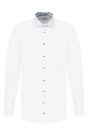 Мужская хлопковая сорочка ETON белого цвета, арт. 1000 00549   Фото 1