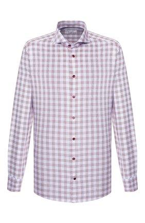 Мужская хлопковая сорочка ETON бордового цвета, арт. 1000 00465 | Фото 1