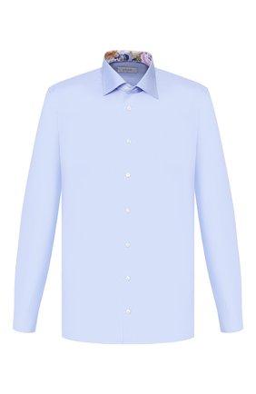 Мужская хлопковая сорочка ETON голубого цвета, арт. 1000 00345 | Фото 1