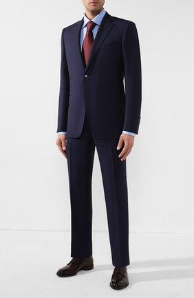 Мужская хлопковая сорочка ETON голубого цвета, арт. 1000 00345 | Фото 2