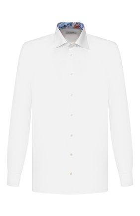 Мужская хлопковая сорочка ETON белого цвета, арт. 1000 00345 | Фото 1