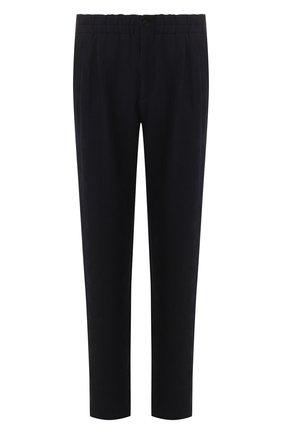 Мужской брюки GIORGIO ARMANI темно-синего цвета, арт. 9SGPP05M/T010H | Фото 1