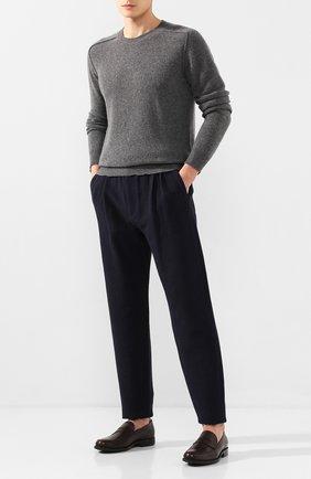 Мужской брюки GIORGIO ARMANI темно-синего цвета, арт. 9SGPP05M/T010H | Фото 2