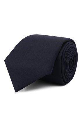 Мужской шерстяной галстук BRUNELLO CUCINELLI темно-синего цвета, арт. M032P0018 | Фото 1
