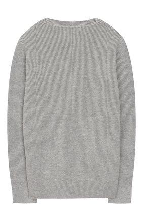 Детский пуловер CALVIN KLEIN JEANS KIDS серого цвета, арт. IB0IB00316 | Фото 2
