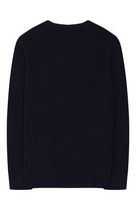 Детский пуловер CALVIN KLEIN JEANS KIDS темно-синего цвета, арт. IB0IB00316 | Фото 2